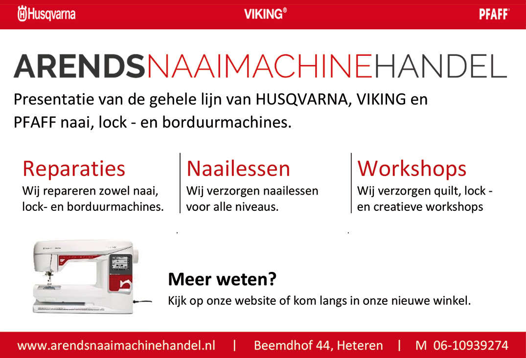 Arends-naaimachinehandel